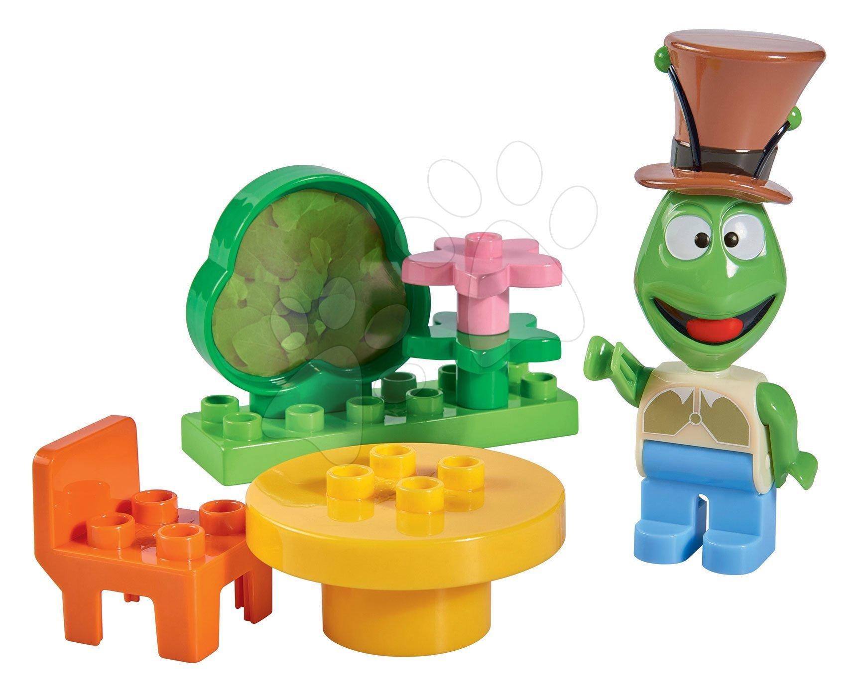 Stavebnice Včelka Mája - Cvrček Flip v obýváku PlayBIG Bloxx 1 figurka a 6-7 dílů od 24 měsíců