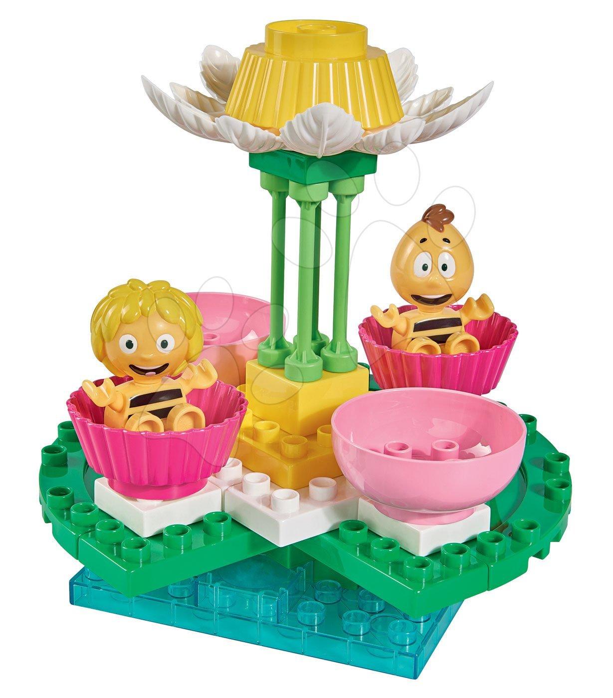 Építőjáték Maja a méhecske hintán PlayBIG Bloxx BIG 2 figurával és 38 részes 24 hó-tól