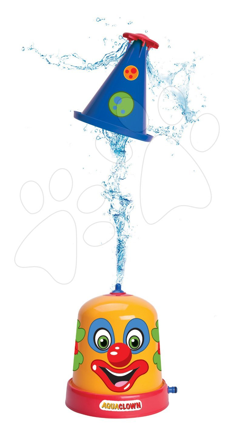 Športové hry pre najmenších - Striekajúci klaun fontána BIG