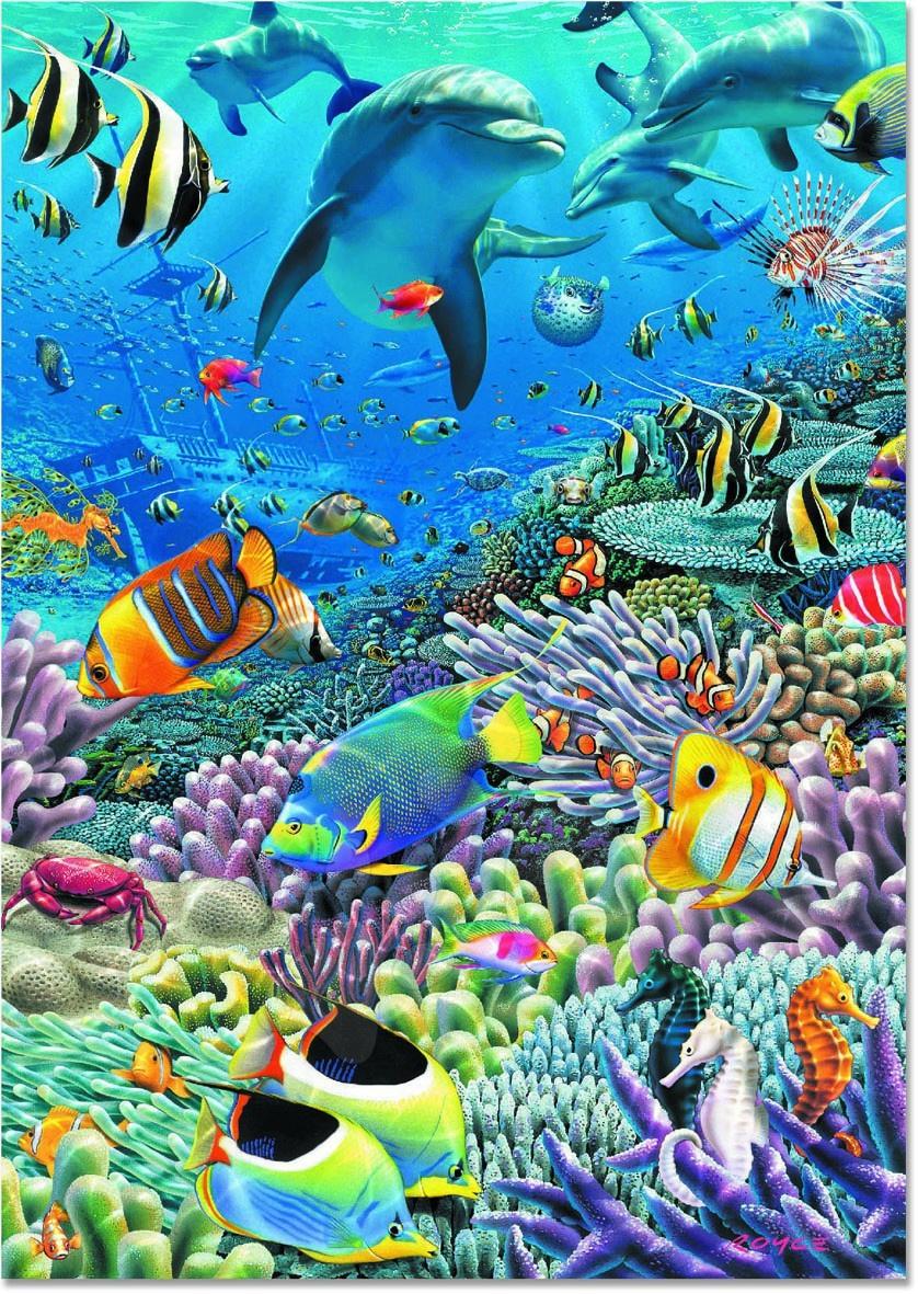 Puzzle Sea of Life Educa 2000 dielov