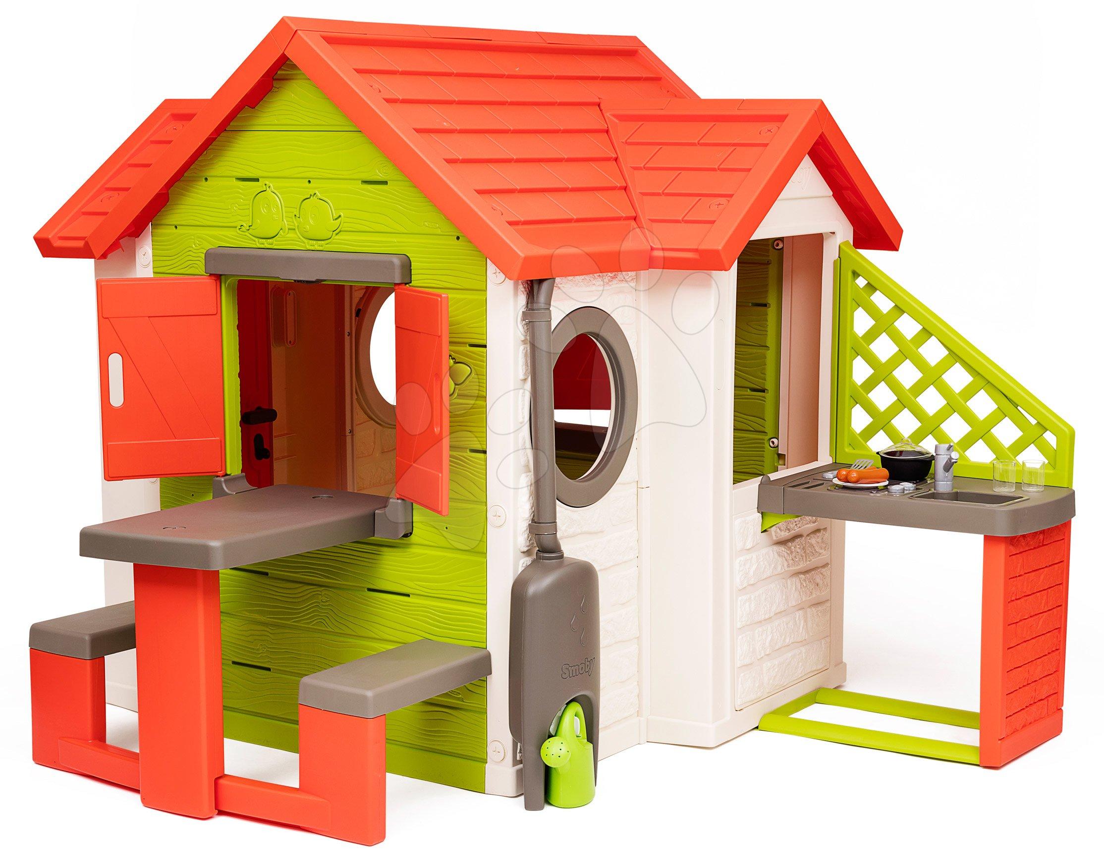 Domček My Neo House DeLuxe Smoby s kuchynkou a stolom