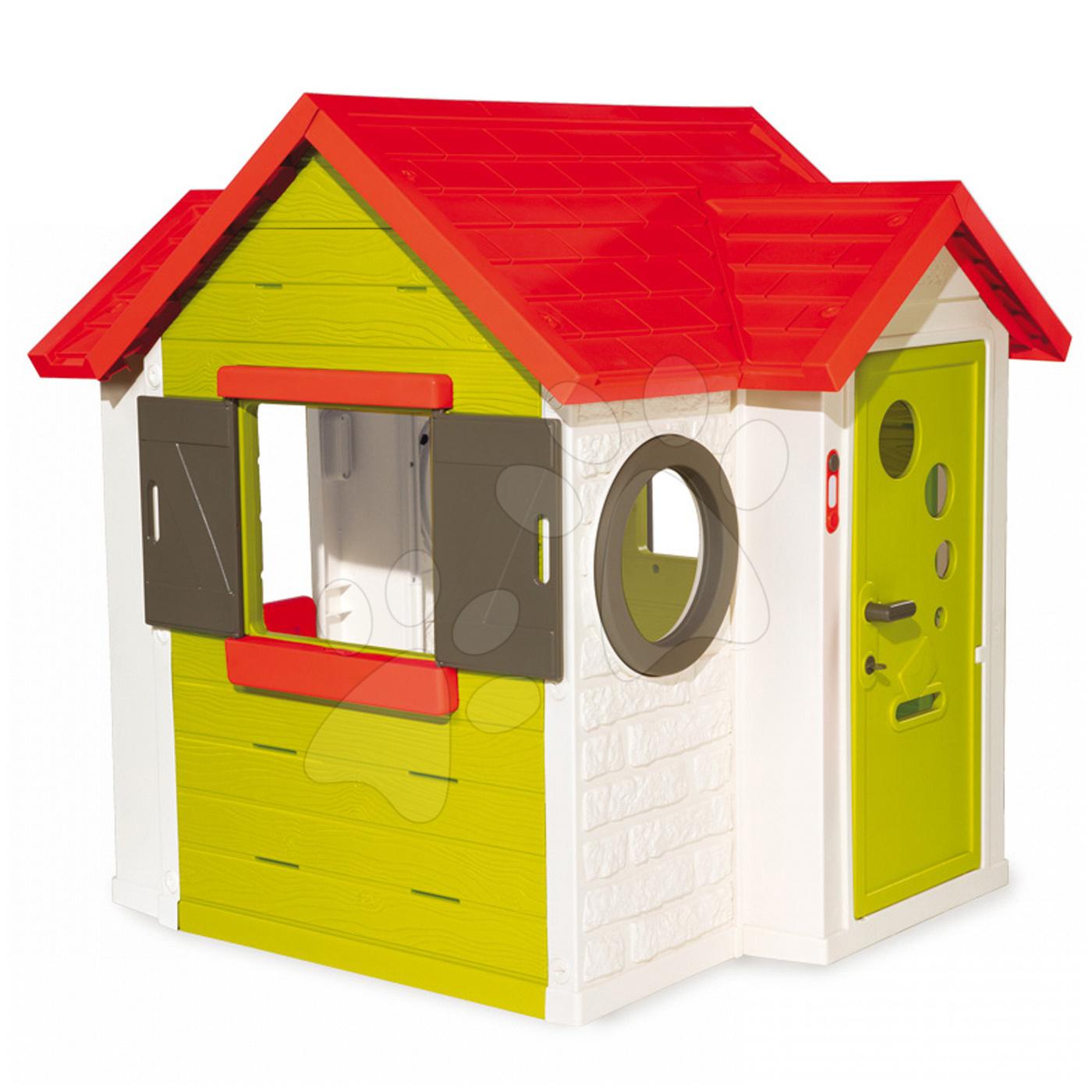 d tsk dome ek se zvonkem smoby my house. Black Bedroom Furniture Sets. Home Design Ideas