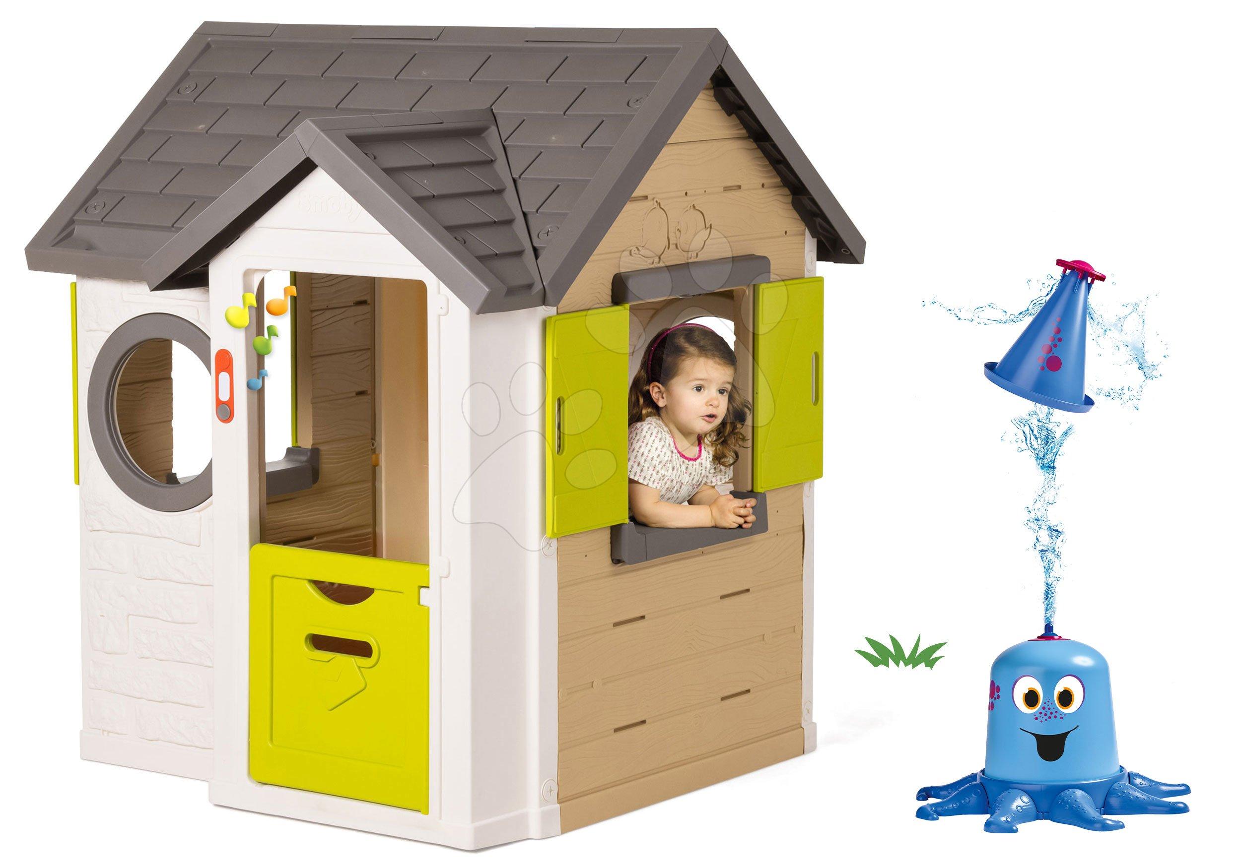 Smoby set domeček My House a Big vodní klaun 810402-11