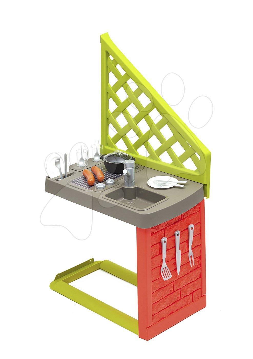 Smoby kuchynka so 17 doplnkami k domčeku Neo Jura Lodge a Friends House s UV filtrom 810901