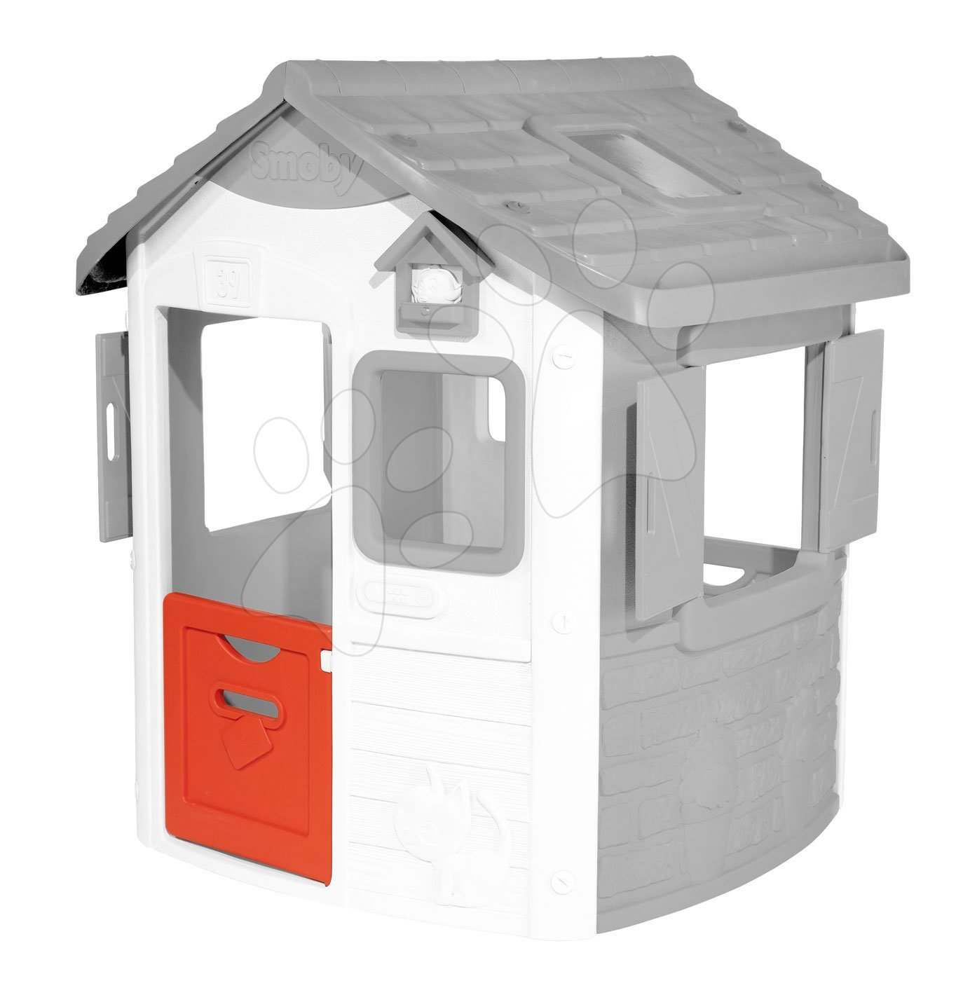 Dvere polovičné s poštovou schránkou k domčeku Smoby s UV filtrom