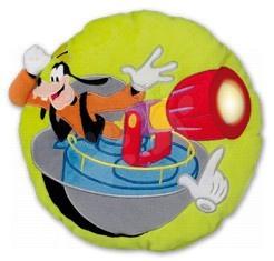 Plüsspárnák - Kispárna WD Mickey egérGoofy Ilanit világítással