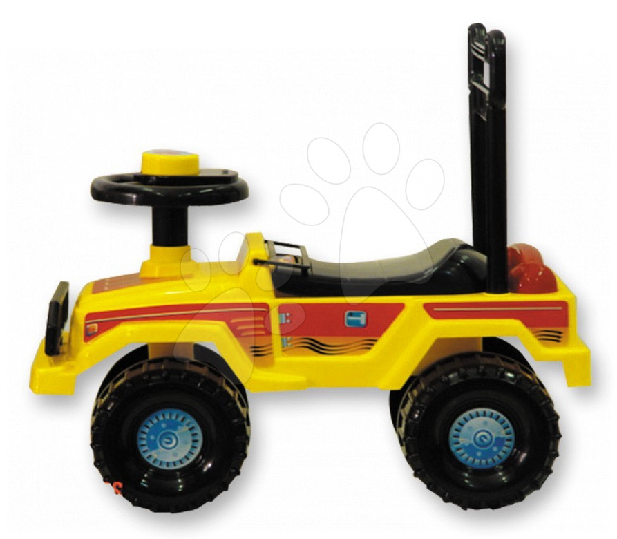 Motorky - Odrážadlo smarTrike jeep žlté