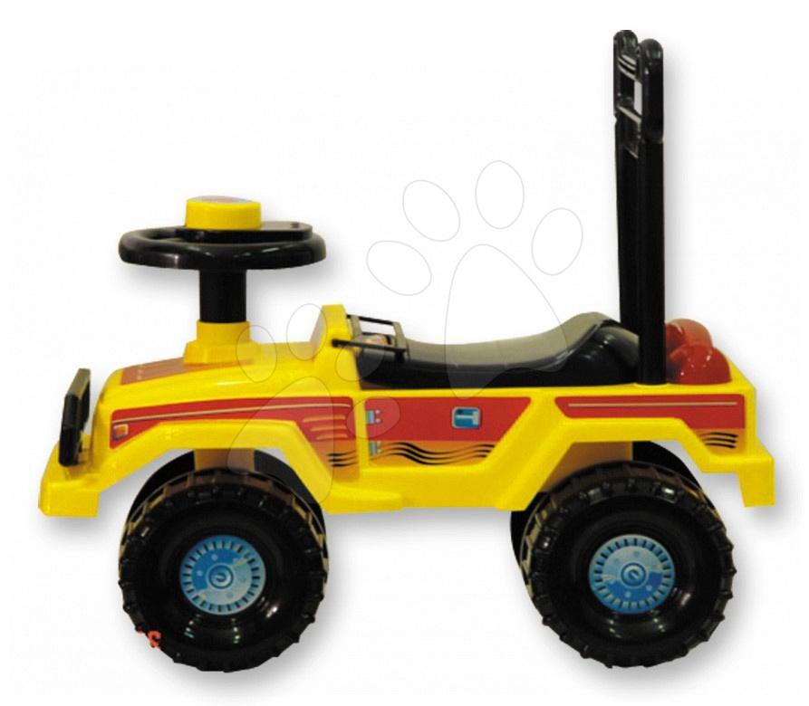 Odrážedlo smarTrike jeep žluté