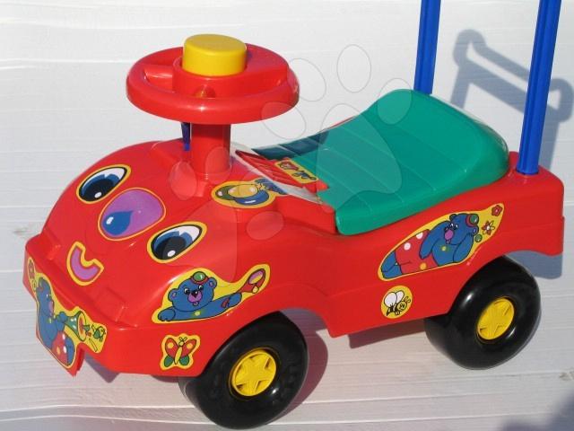 Odrážedlo autíčko Bimba smarTrike červené