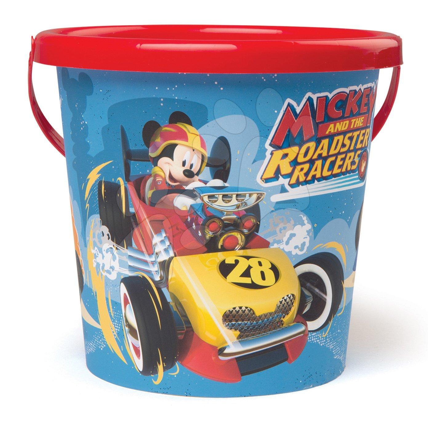 Smoby vedierko do piesku pre deti Mickey 861010 modré