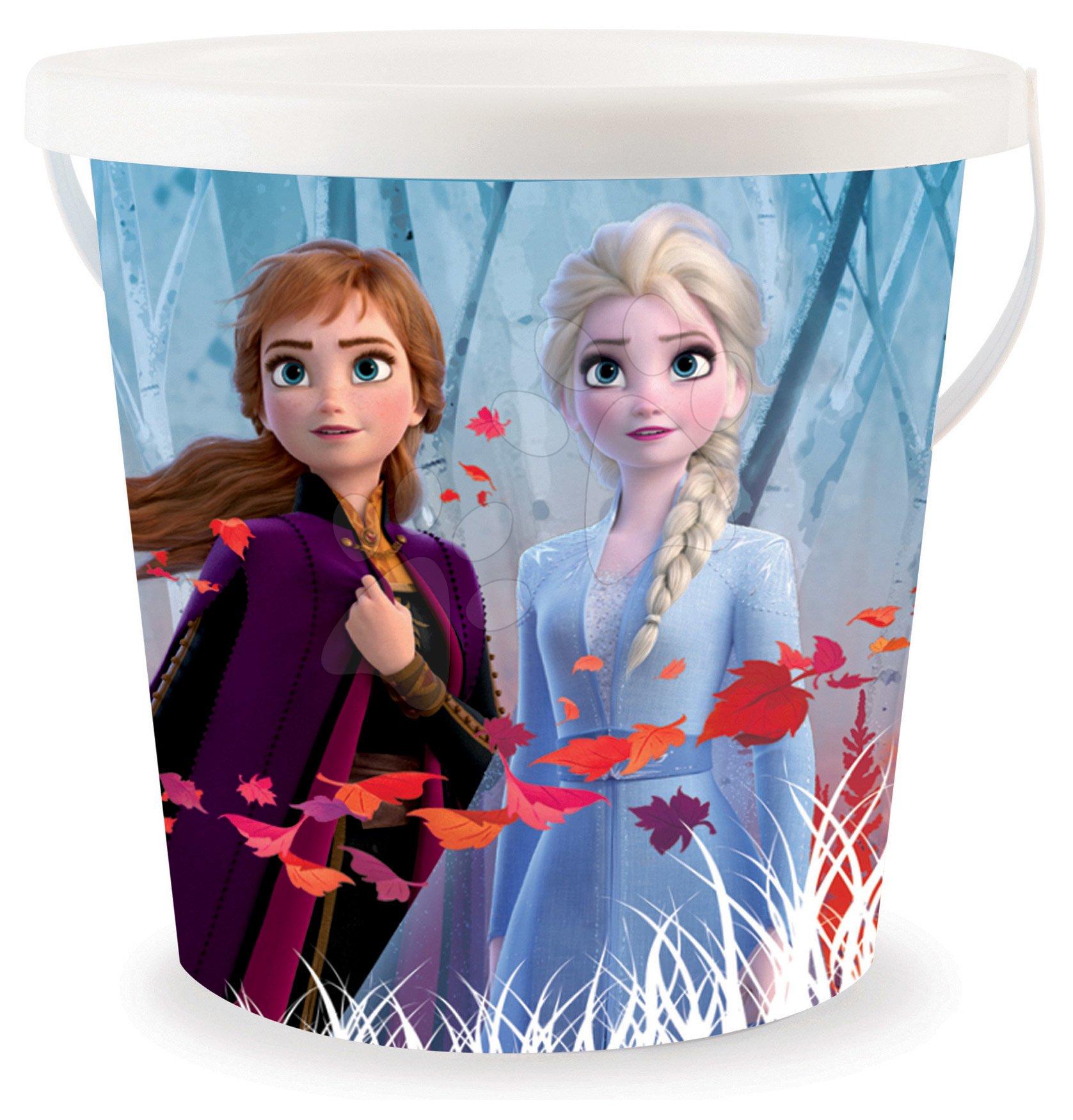 Smoby vedro pre deti Frozen s trblietkami 861015