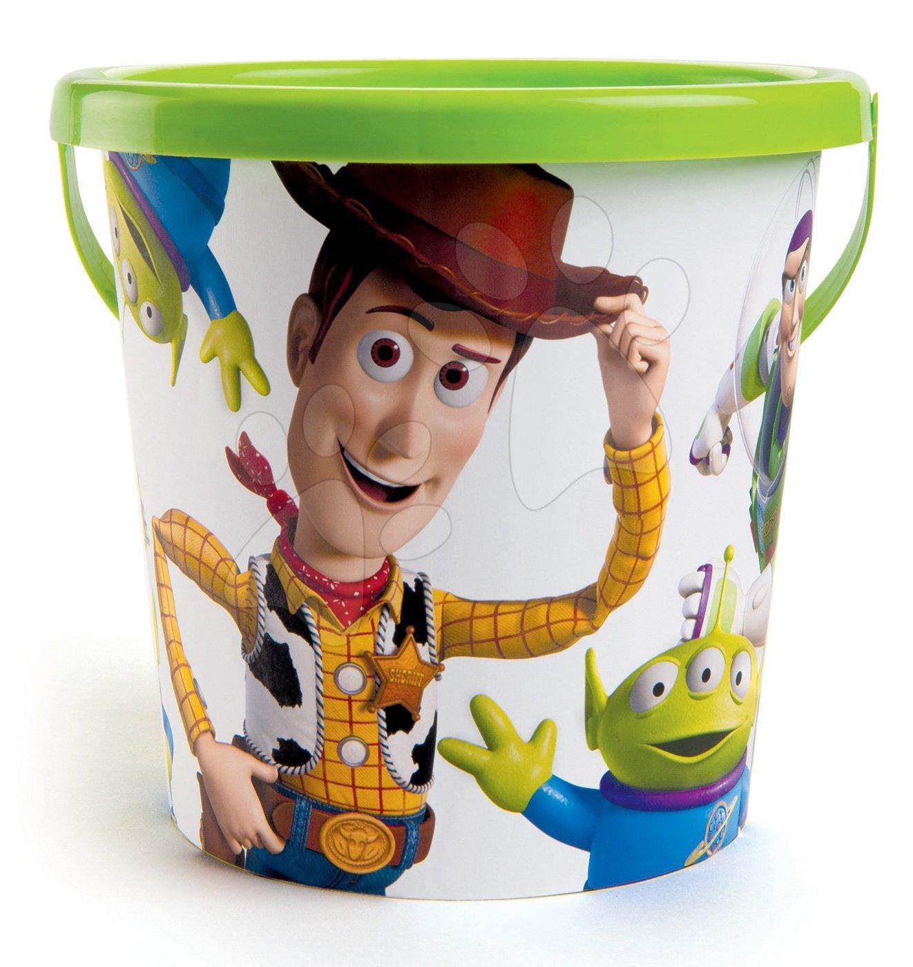Vedro pre deti Toy Story Smoby (výška 17 cm) od 18 mesiacov