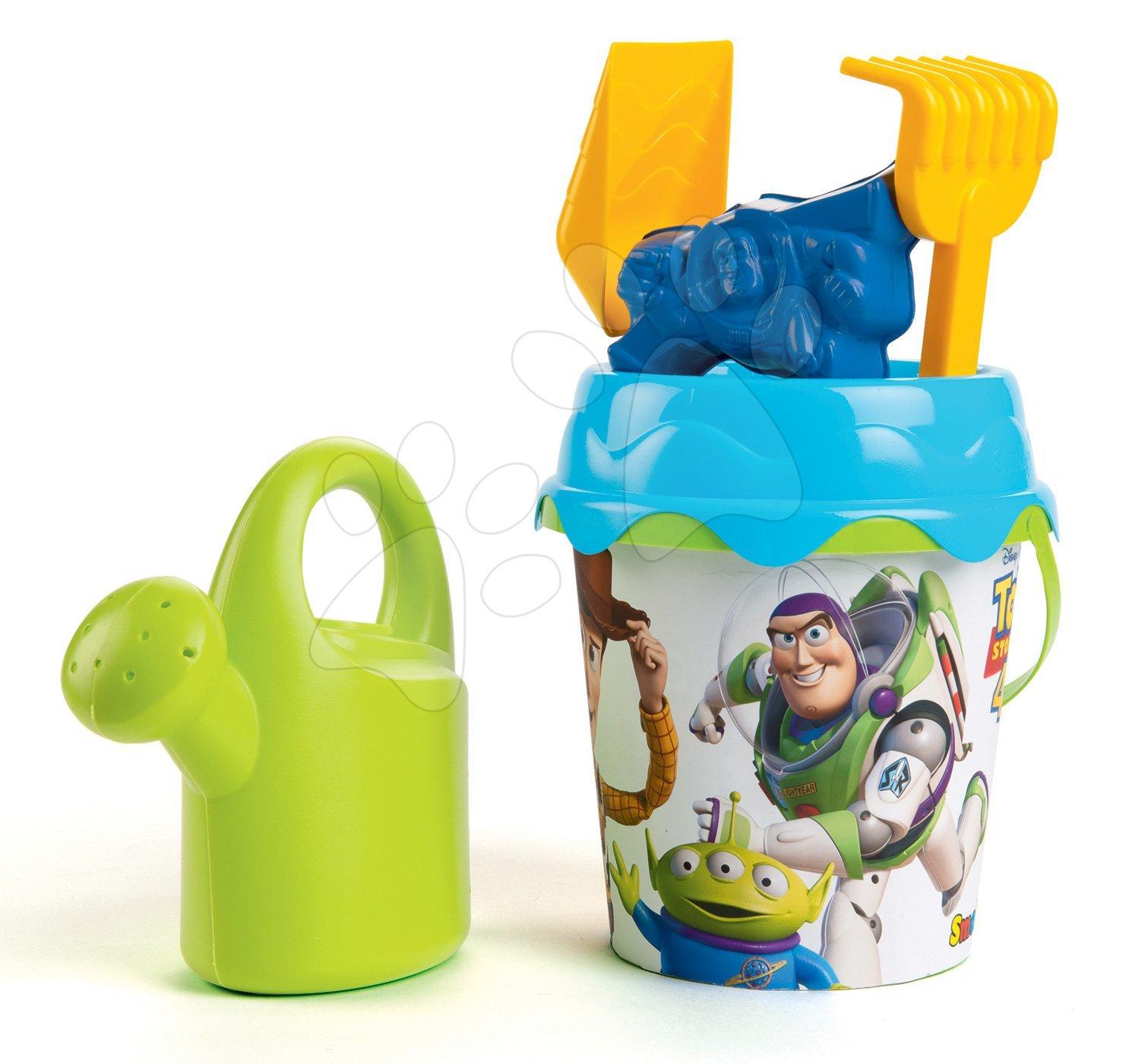Vedierka do piesku - Vedro set s krhlou Toy Story Smoby 6 dielov (výška 17 cm) od 18 mes