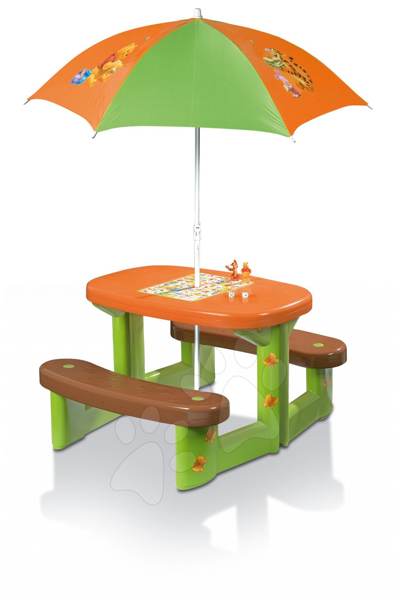 Piknik stôl Macko Pu Smoby