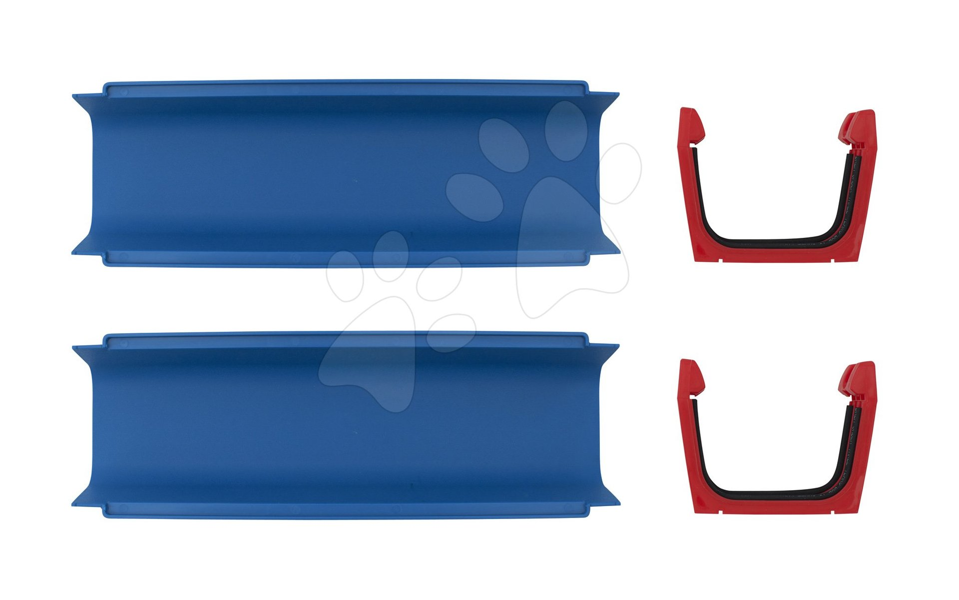 Doplnkové diely Aquaplay rovná časť k vodným dráham, set 2 kusov s tesnením