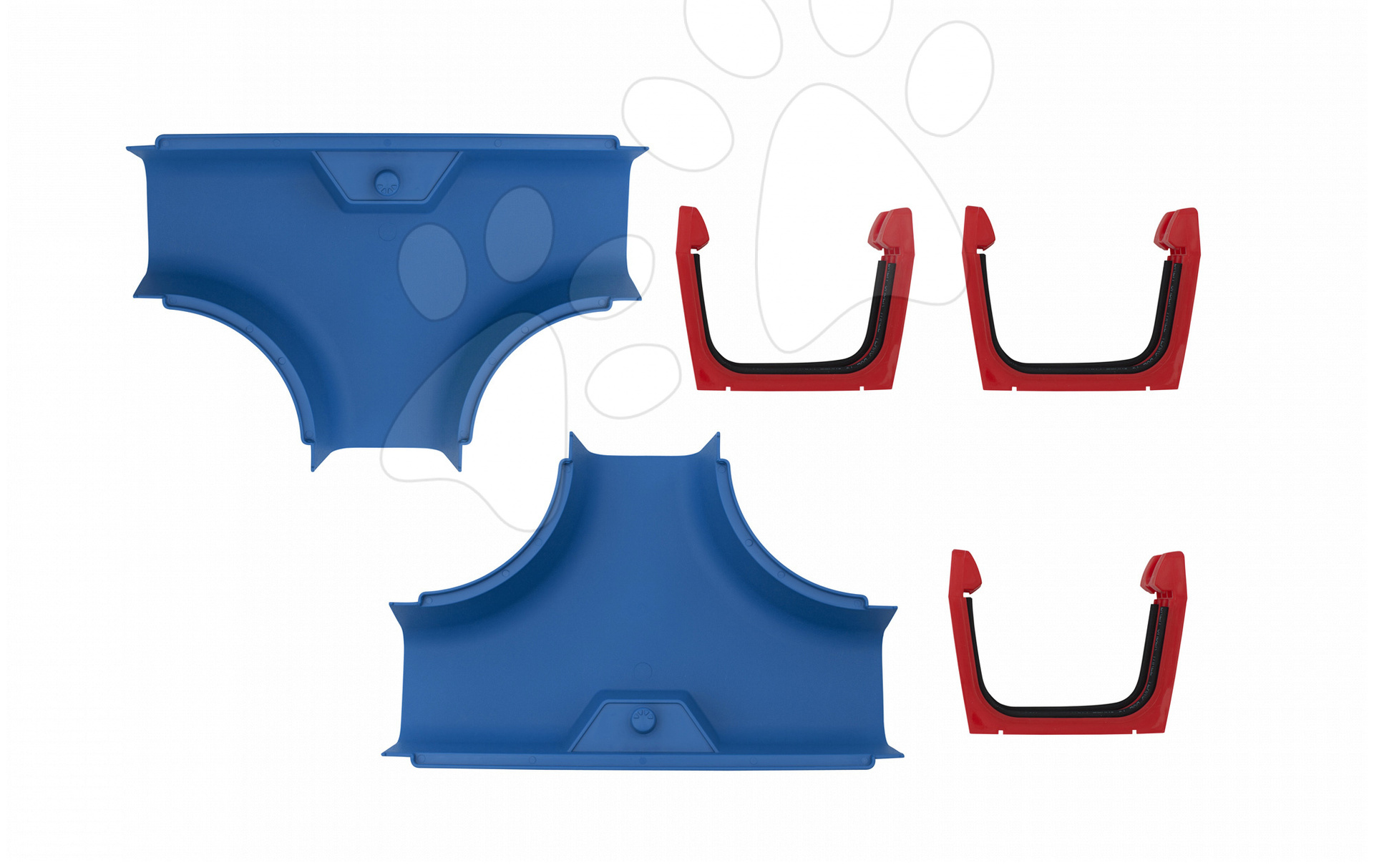 Dopunski dijelovi Aquaplay T križanje uz sve vodene staze – set 2 komada s brtvama