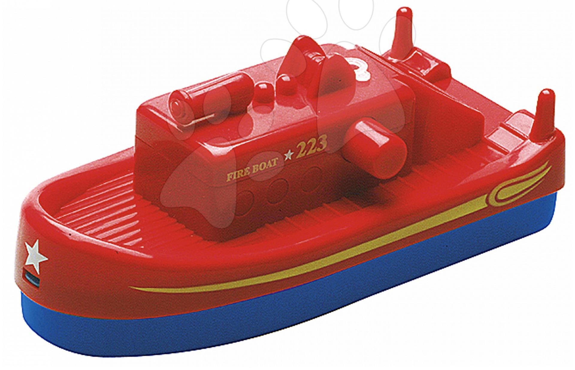 Loď Aquaplay Fireboat s vodným delom s 10 metrovým dostrelom