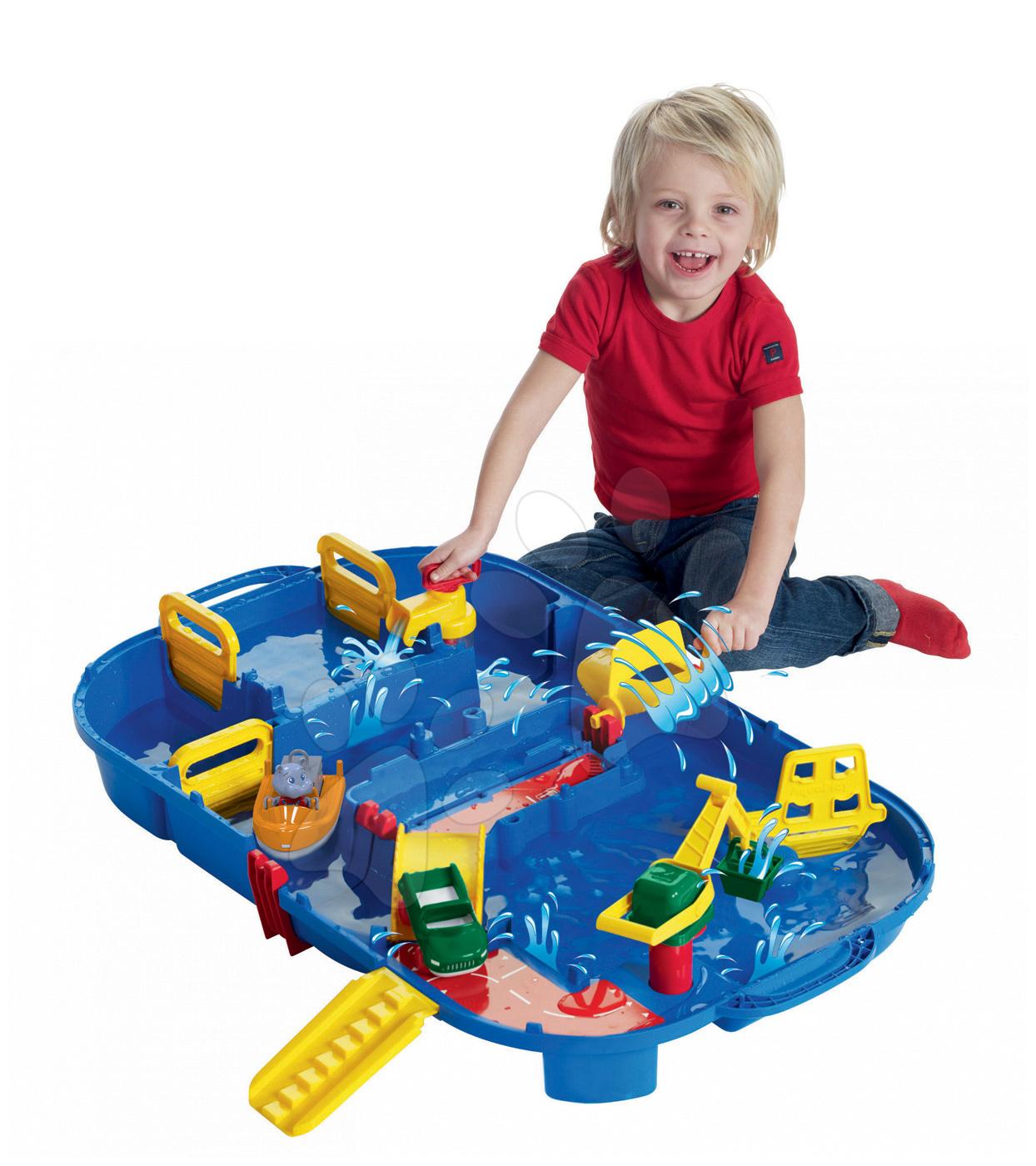 AquaPlay vodná hra Lock Box v kufríku 1616