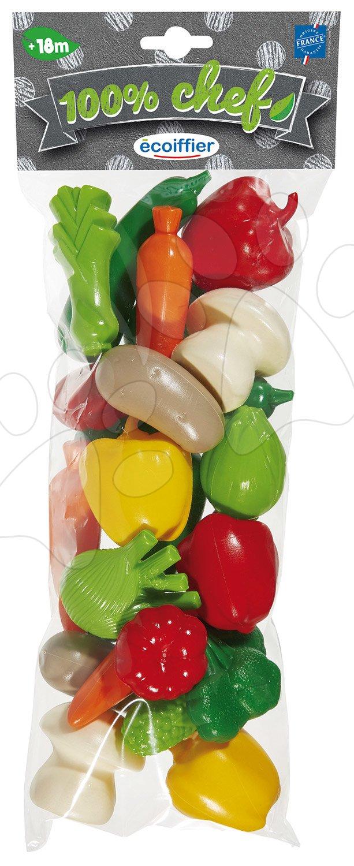 Zelenjava veliki set 100% Chef Ecoiffier 22 kom od 18 mes