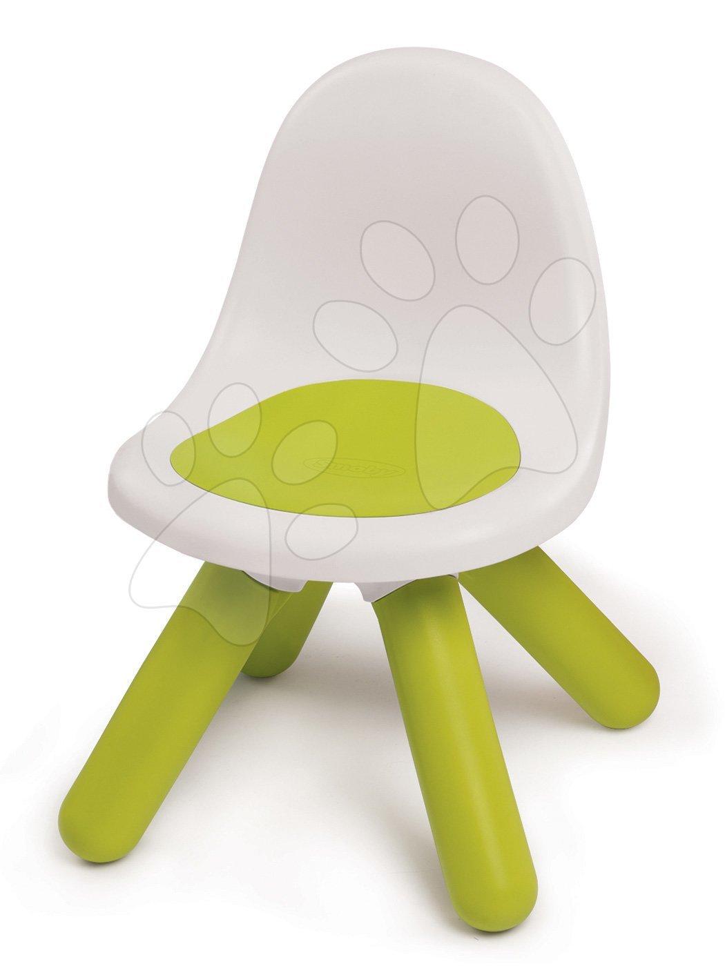 Židle KidChair Smoby s UV filtrem, výška 27 cm, zelená od 18 měsíců