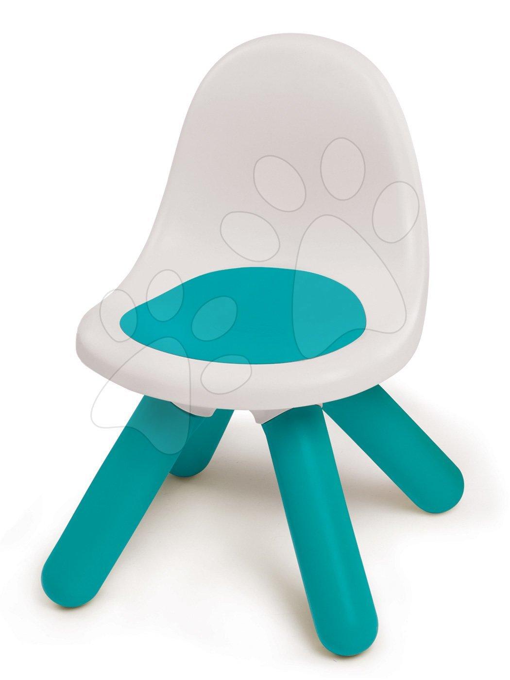 Židle pro děti KidChair Smoby modrá s UV filtrem nosnost 50 kg výška sedadla 27 cm od 18 měsíců