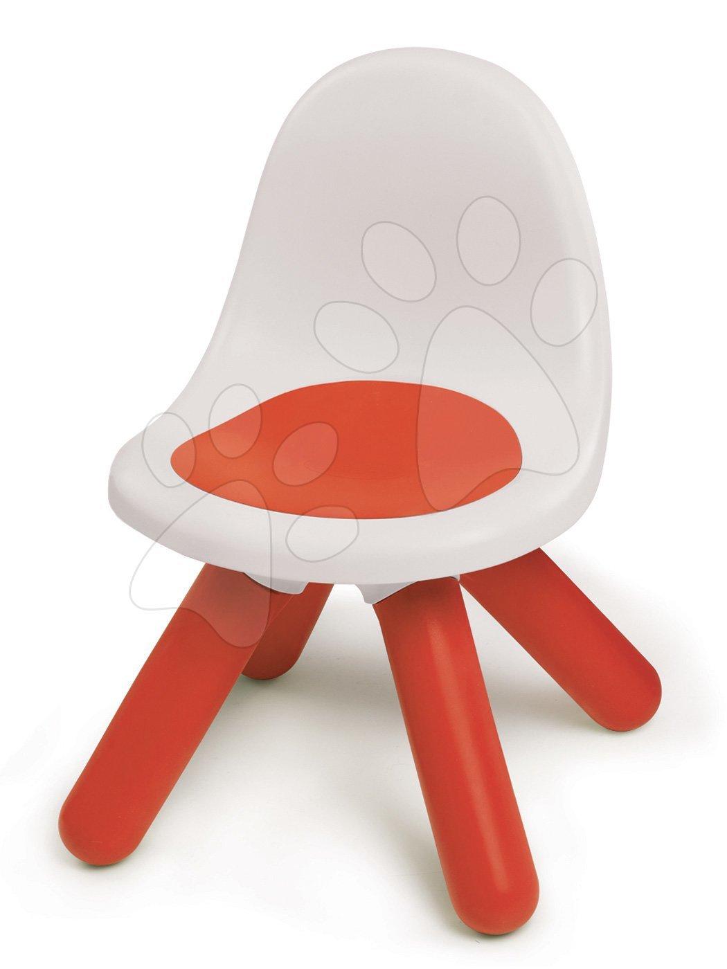 Židle KidChair Smoby s UV filtrem výška 27 cm červená od 18 měsíců