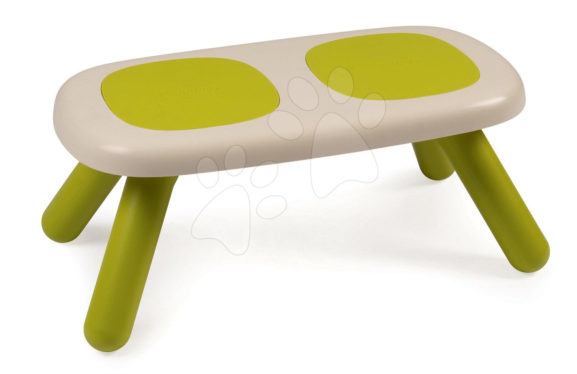 Lavice pro děti KidBench Smoby zelená s UV filtrem od 18 měsíců