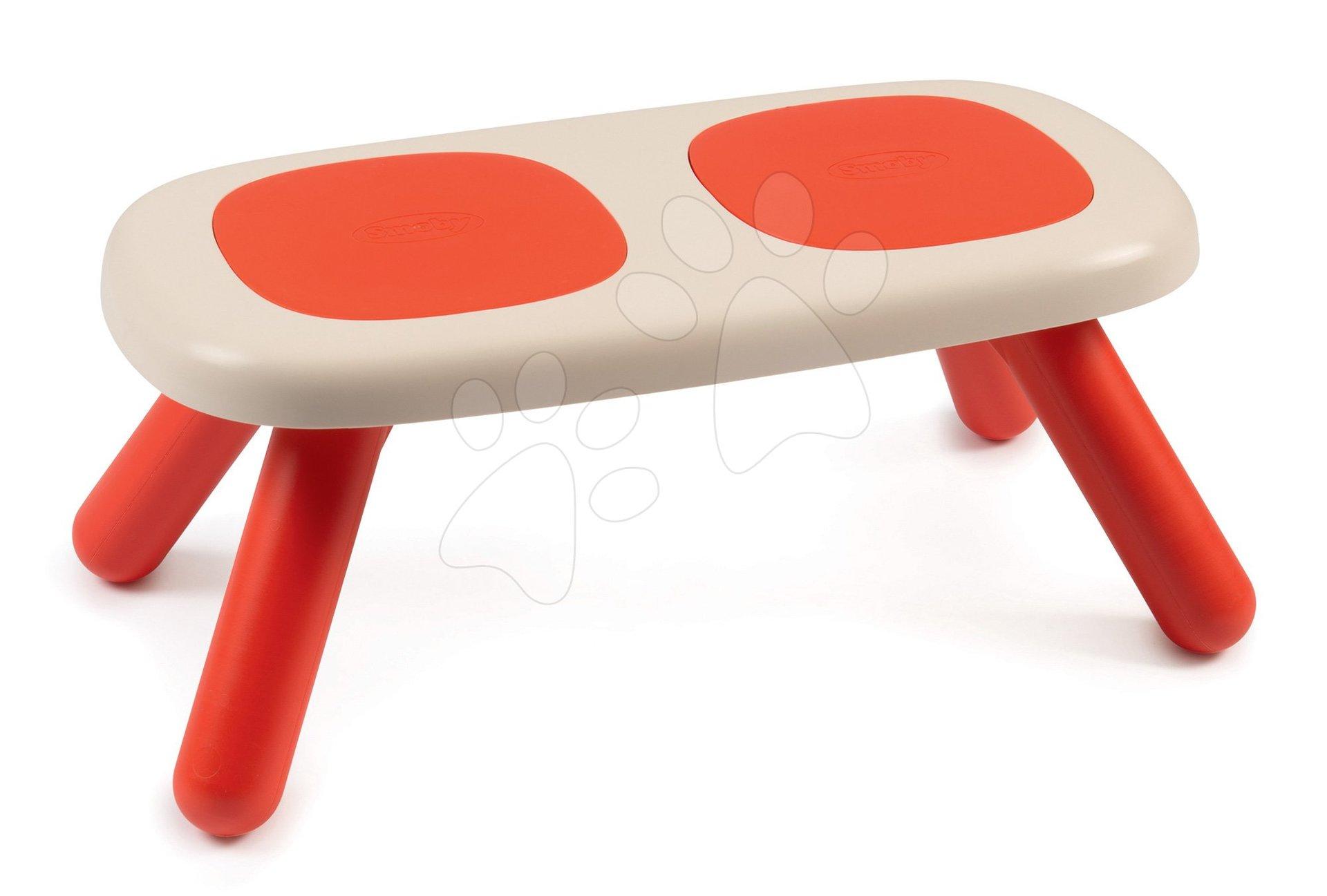 Smoby lavica pre deti KidBench červená s UV filtrom od 18 mesiacov 880303