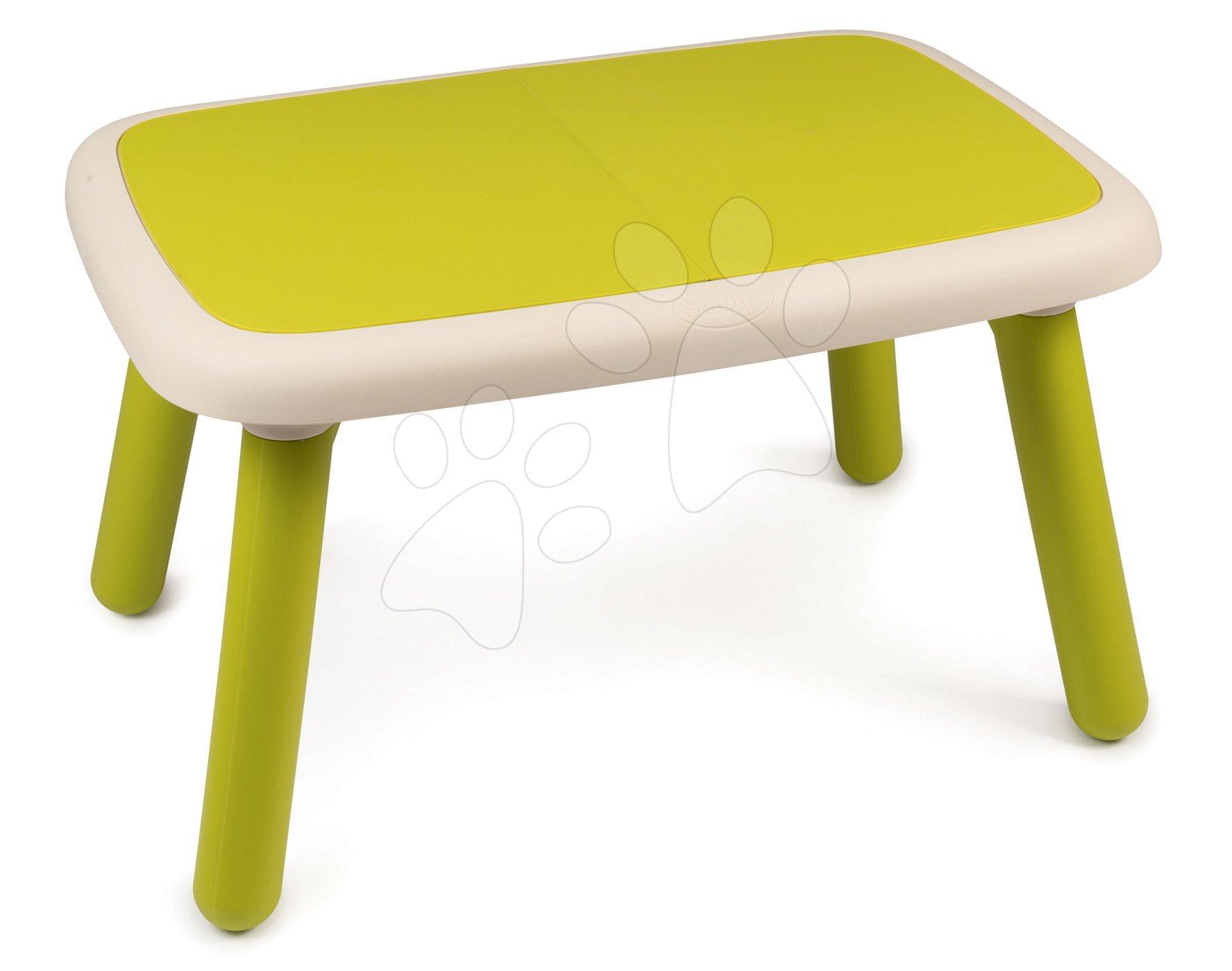Stôl pre deti KidTable Smoby zelený s UV filtrom od 18 mesiacov