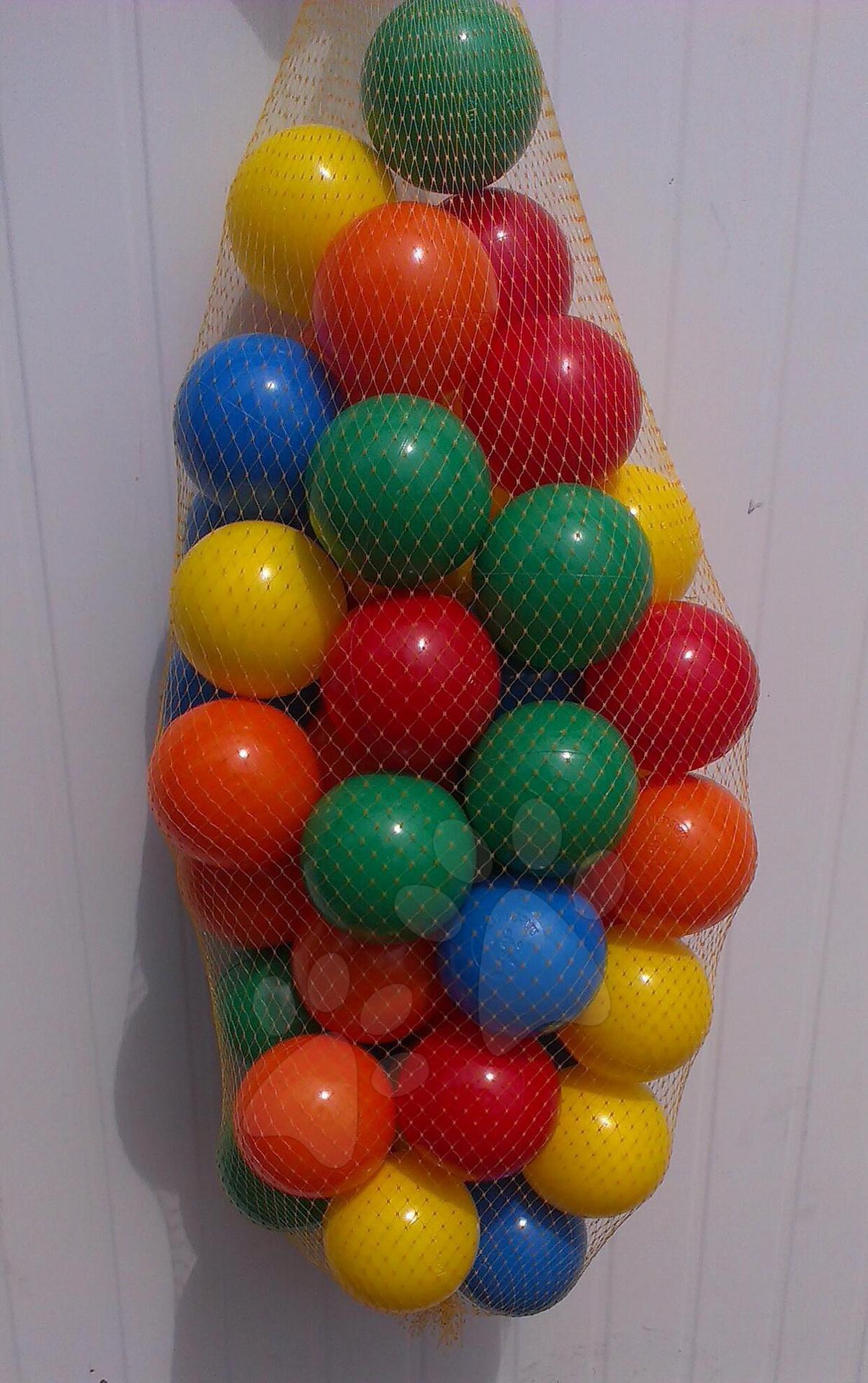 Plastové míčky PB 6 cm barevné 100 ks