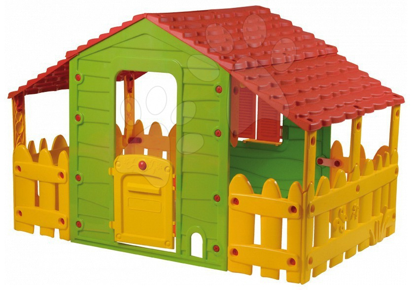 Domček Farm House Starplast 2x plot + 2x strecha od 24 mes