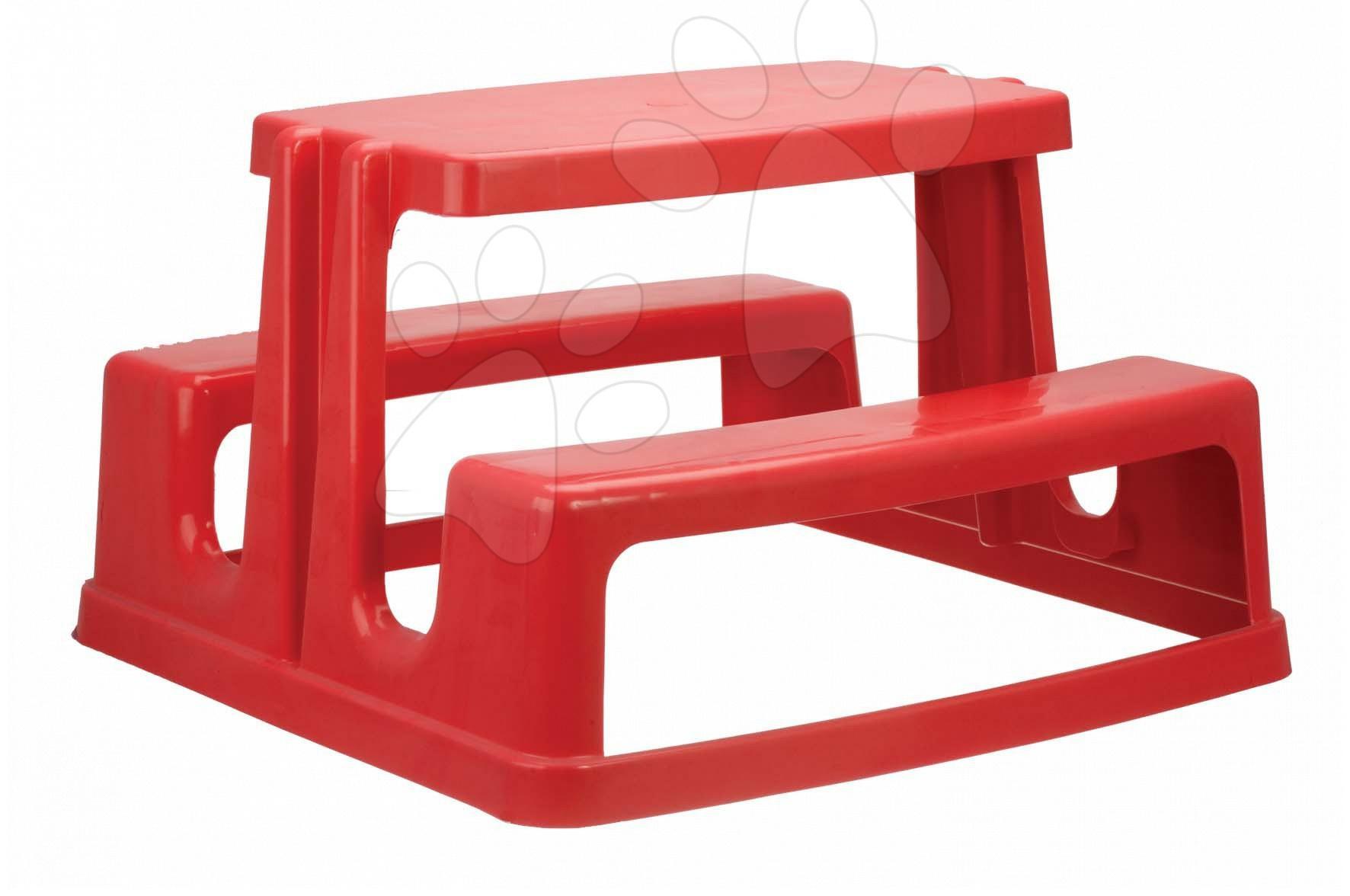 Stôl Piknik Monoblok Starplast červený od 24 mes