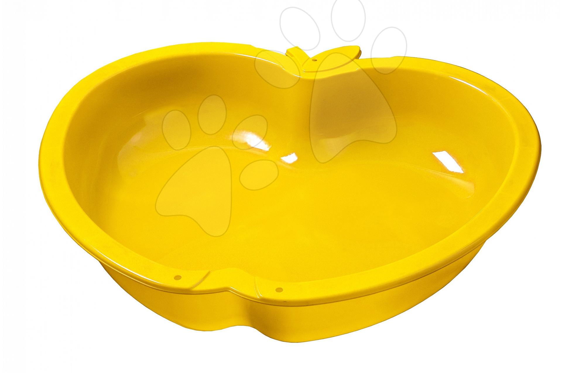 Pieskovisko Jablko Starplast veľké žlté, objem 147 litrov od 24 mes