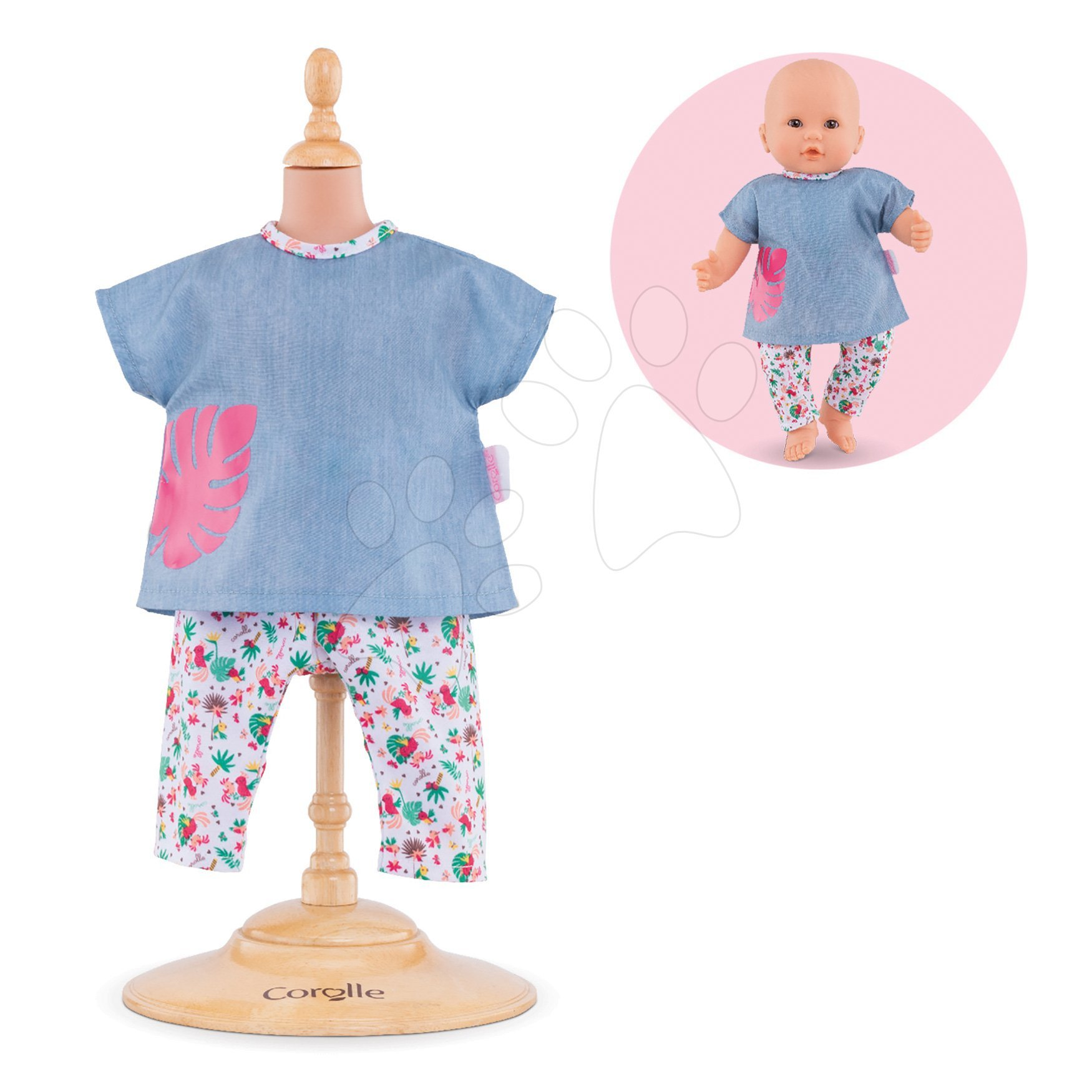 Oblečenie sada Tropicorolle Mon Grand Poupon Corolle pre 36 cm bábiku od 24 mes