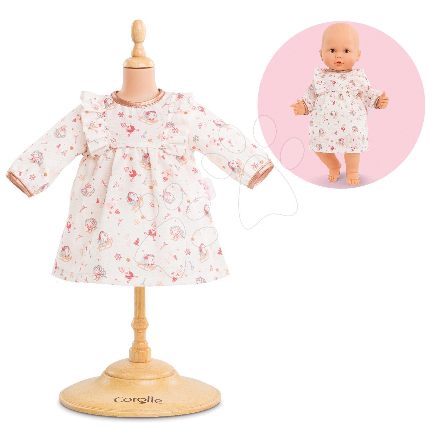 Oblečenie Dress-Enchanted Winter Mon Grand Poupon Corolle pre 36 cm bábiku od 24 mes