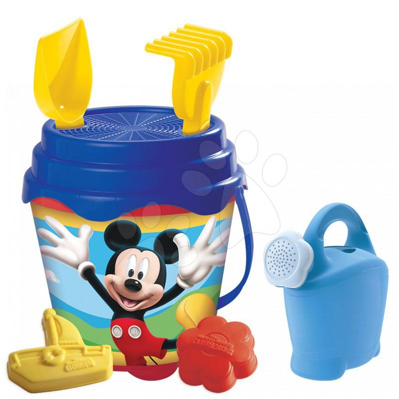Kbelík set s konví Mickey Mouse Mondo 7 dílů (výška 14 cm) od 18 měsíců