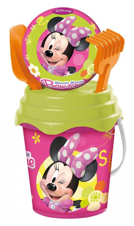 Staré položky - Vedro set s loptou Minnie Mouse Mondo 5 dielov (výška 19 cm) od 18 mes
