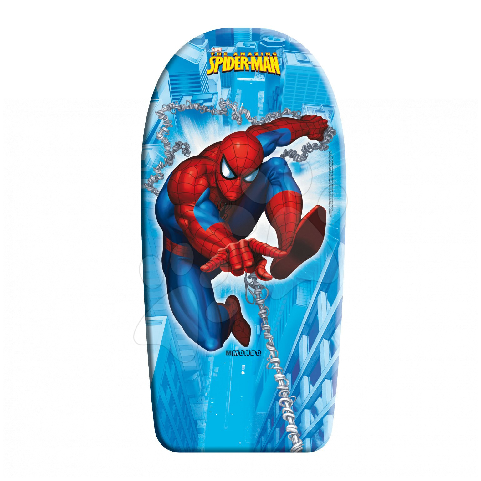 Placă de înot din burete Omul păianjen Mondo 104 cm