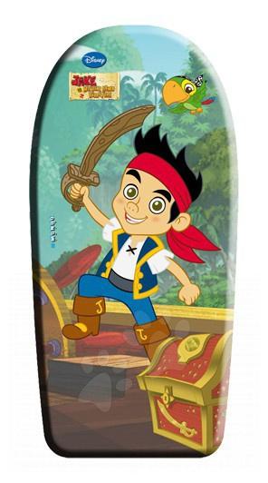 Staré položky - Doska na plávanie penová Jake a Piráti z Krajiny Nekrajiny Mondo 84 cm