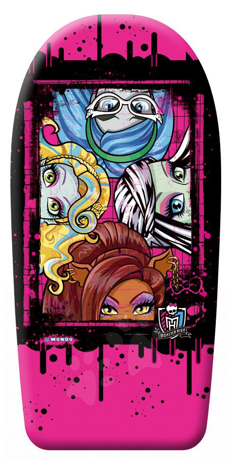 Staré položky - Doska na plávanie penová Monster High Mondo 84 cm