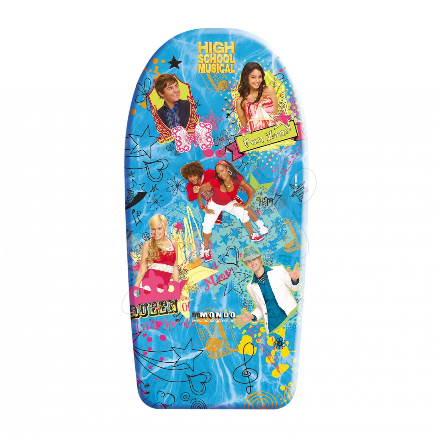 Produse vechi - Placă de înot din burete spumă High school musical Mondo 104cm