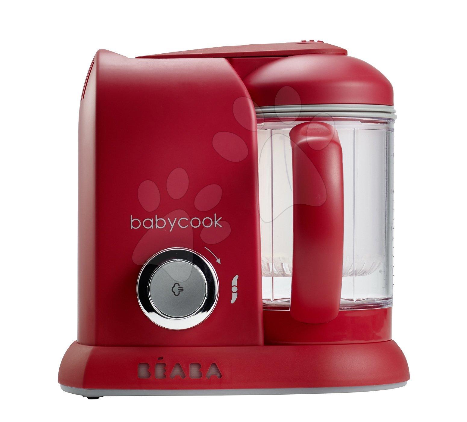 Beaba Babycook® parný varič a mixér 912422 bordový
