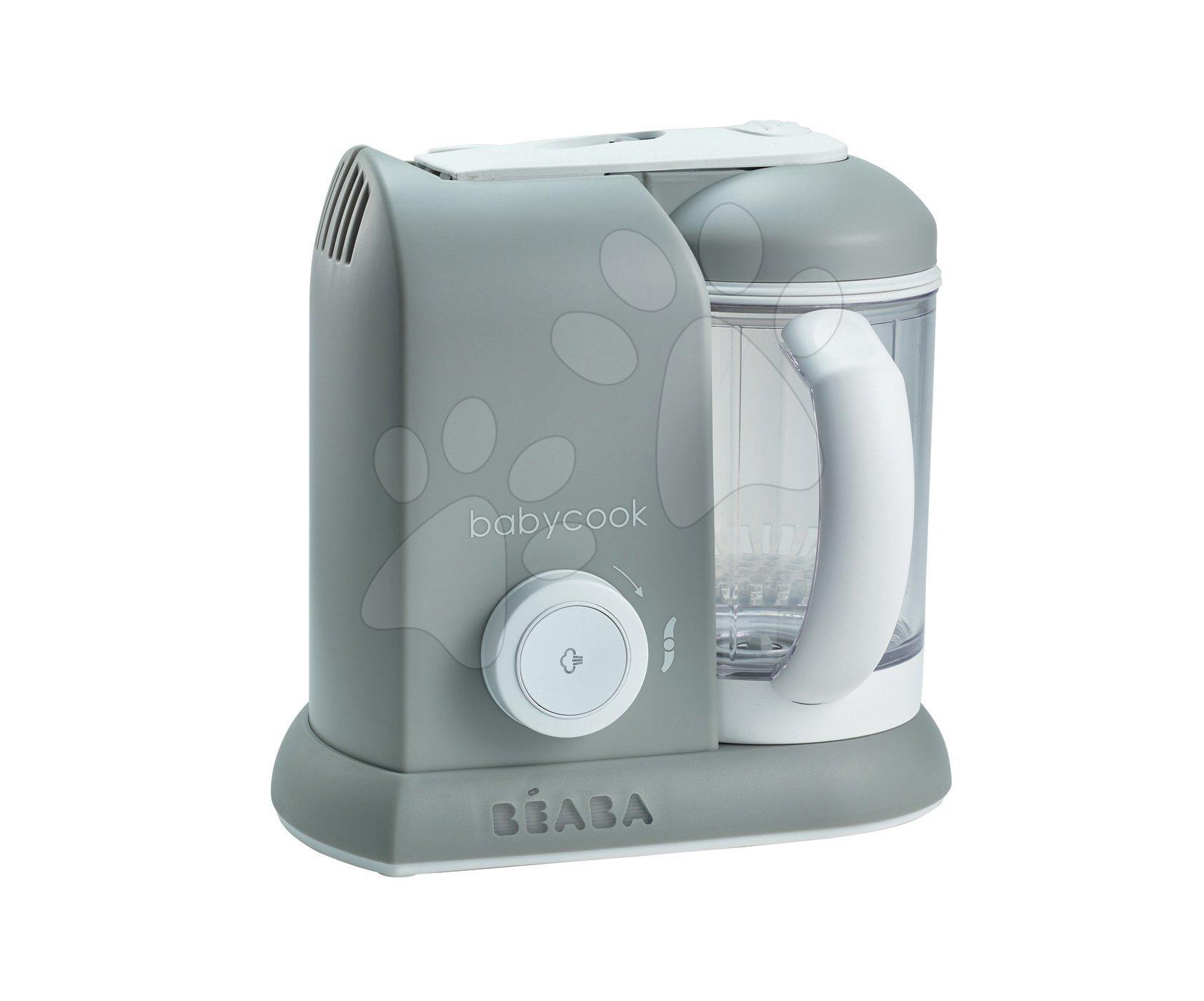 Parný varič a mixér Beaba Babycook® Solo šedý od 0 mesiacov