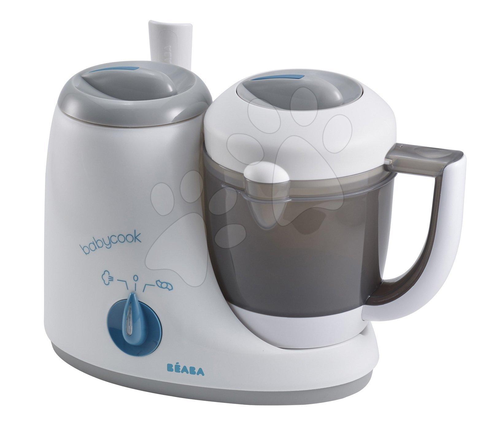 Parní vařič a mixér Beaba Babycook® Originál šedo-modrý od 0 měsíců