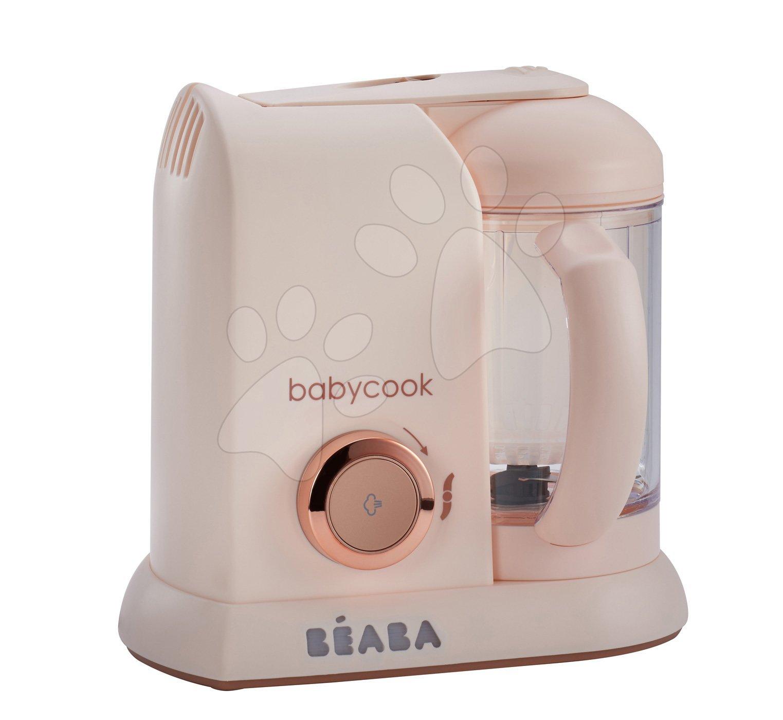 Parný varič a mixér Babycook® Solo Rose Gold Beaba limitovaná špeciálna edícia ružový