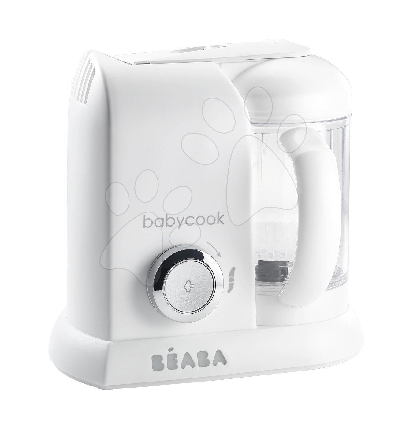 Beaba parný varič a mixér Babycook® Solo 912675 bielo-strieborný