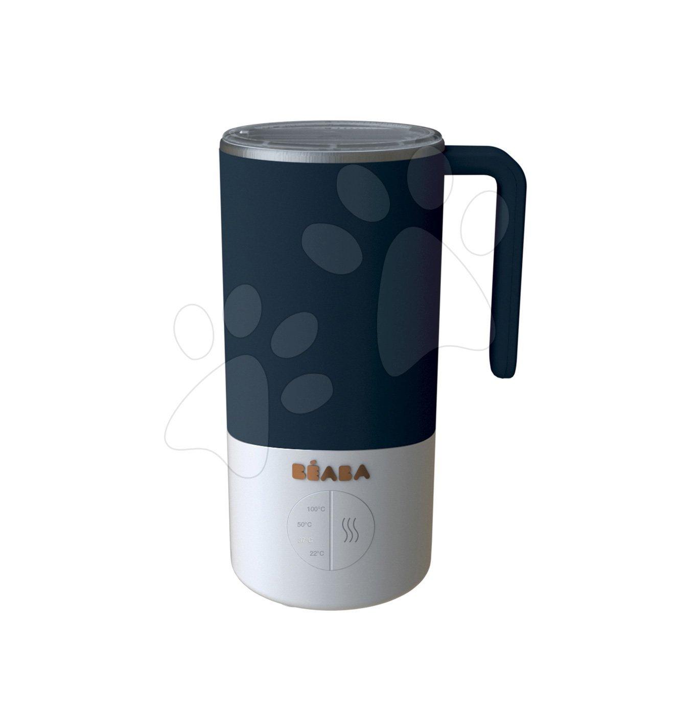 Príprava mlieka a sterilizátor Milk Prep® Beaba 450 ml nerezový od 0 mesiacov modrý