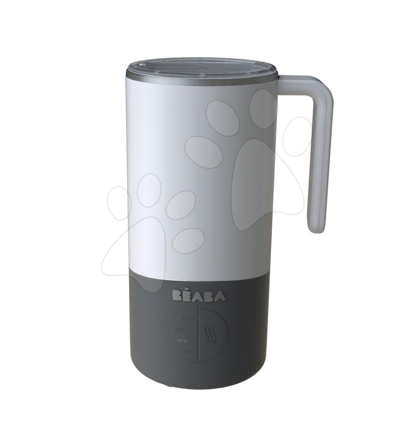 Príprava mlieka a sterilizátor Milk Prep® Beaba 450 ml nerezový od 0 mesiacov šedý