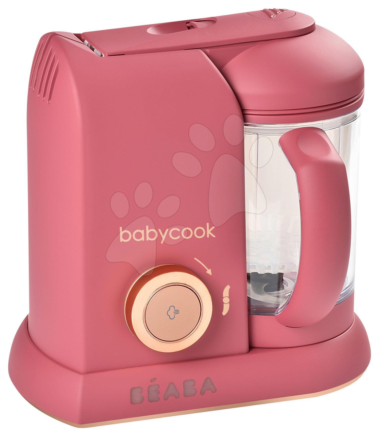 Parný varič a mixér Beaba Babycook® Solo Litchee pink-gold od 0 mes
