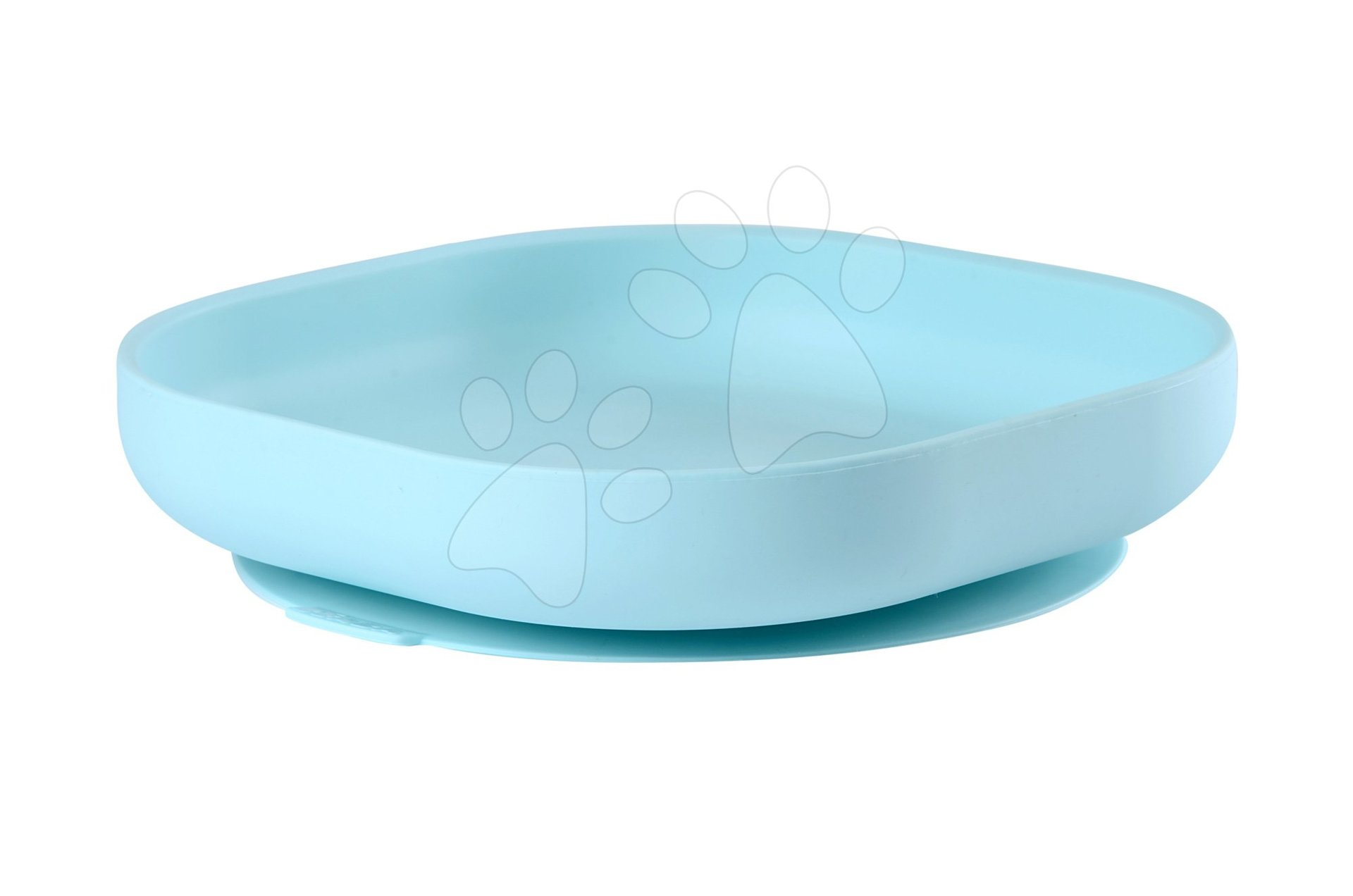 Beaba tanier pre bábätká zo silikónu 913430 modrý